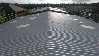 Asbestos roof repair Bedford Borough