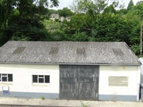 Asbestos roof garage repair
