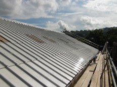 Asbestos roof repair peterborough