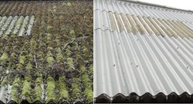 Sort out your leaking asbestos roofing!