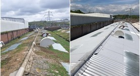 Ageing Asbestos Roof Given New Lease of Life